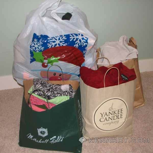 Closet Organization: Give clothing to a loved one or local nonprofit organization
