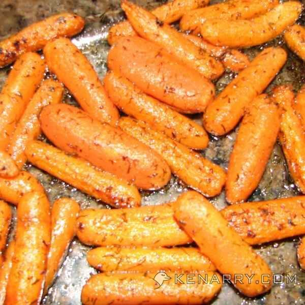 Roasted Baby Carrots With Dill: A Simple Side Dish
