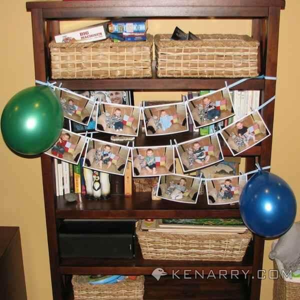 zebra birthday photos