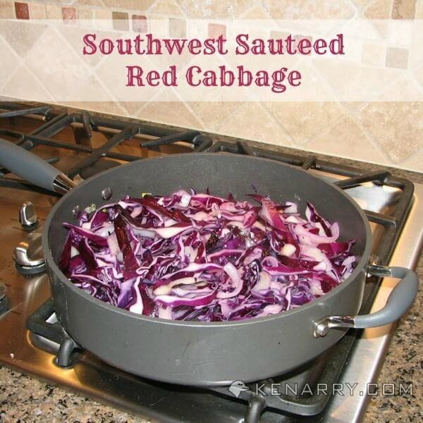 Red Cabbage Recipe: A Tasty Southwest Sauteed Side Dish - Kenarry.com