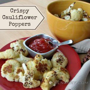 Crispy Cauliflower Poppers: A Low-Carb Baked Side Dish - Kenarry.com