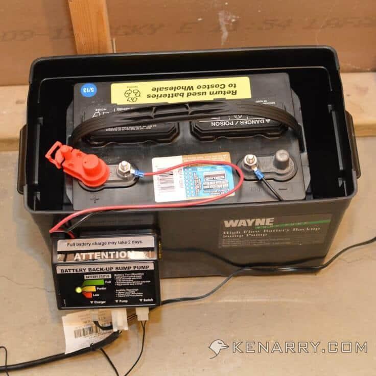 control unit and battery kenarrycom - Watchdog Sump Pump