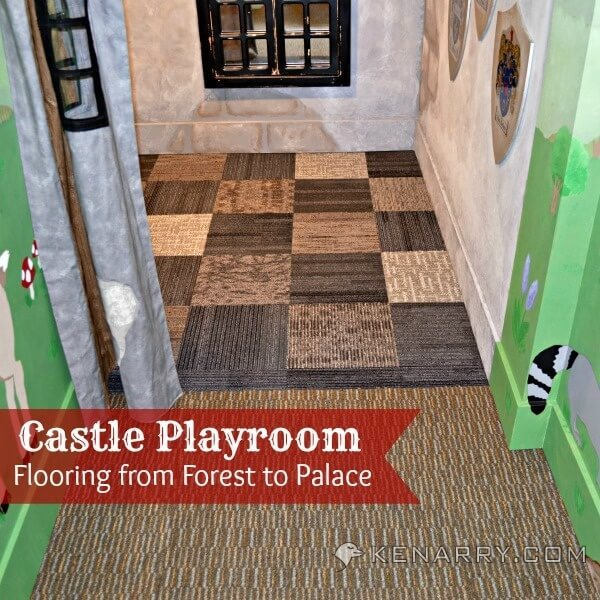 Castle Playroom Floors: Creating Space With Carpet Squares