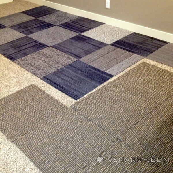 Castle Playroom Floors Creating Space With Carpet Squares
