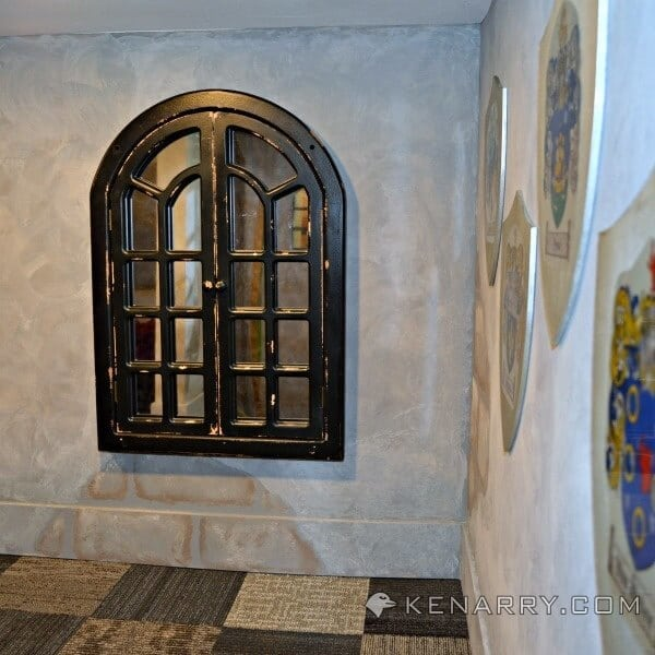 Castle Playroom Shields and Decor: Setting a Medieval Scene - Kenarry.com