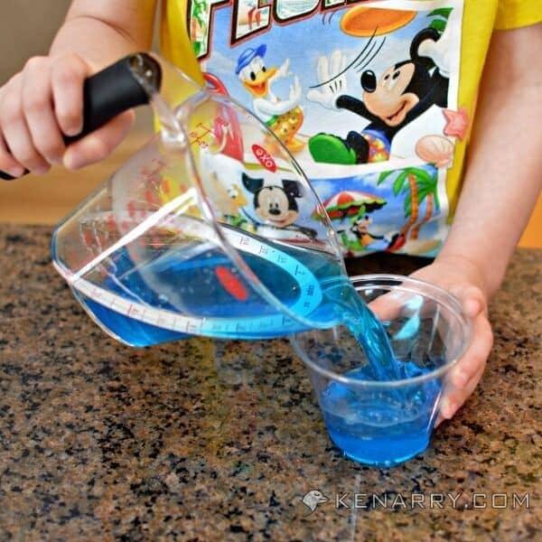 Blue Raspberry Jello Cups for Kids: Tropical Turtle Beach - Kenarry.com