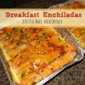 Breakfast Enchiladas: A Festive Make-Ahead Brunch - Kenarry.com