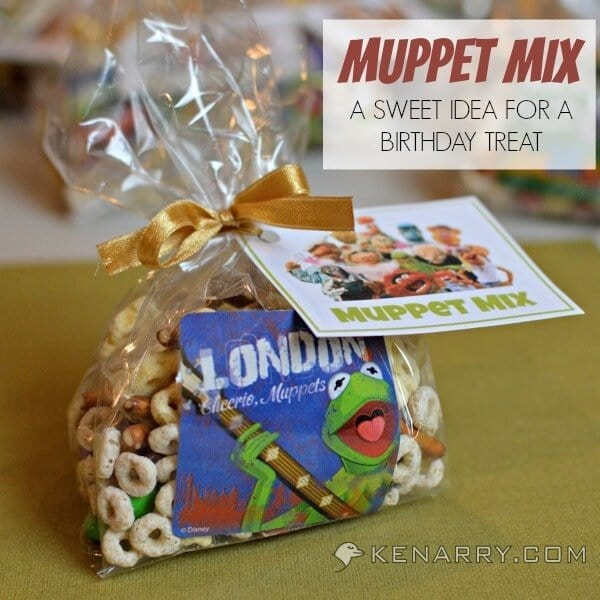 Muppet Mix: A Sweet Idea for a Birthday Treat - Kenarry.com
