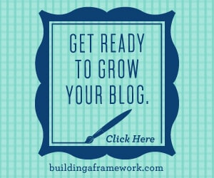 Building a Framework - Just a Girl and Her Blog