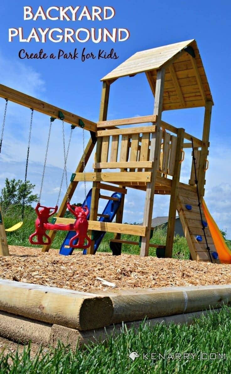 Backyard Playground: How to Create a Park for Kids - Kenarry.com