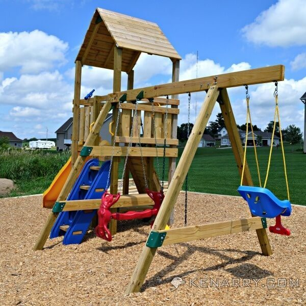 Backyard Playground Diy :  DIY backyard playground, it?s now time to start creating the park