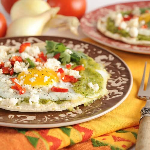 Charred Zucchini Salsa Verde for Huevos Rancheros Recipe by Everyday Southwest - Zucchini Recipes on Kenarry.com