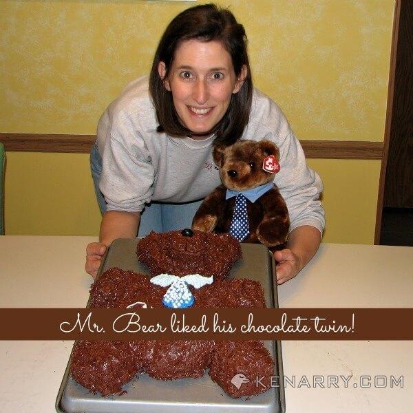 Teddy Bear Birthday Cake: Adorably Sweet Birthday Idea - Kenarry.com
