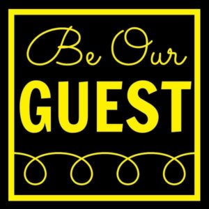 Be Our Guest - Kenarry.com