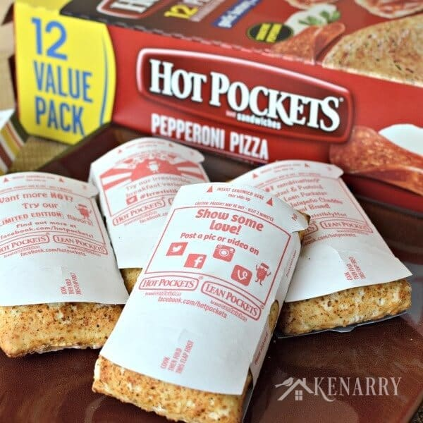 hot pocket cooking instructions