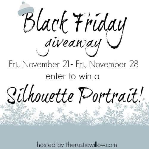 Enter to Win a Silhouette Portrait