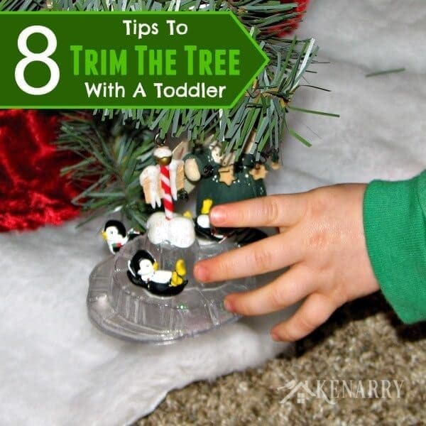 Trim The Tree Toddler Tips