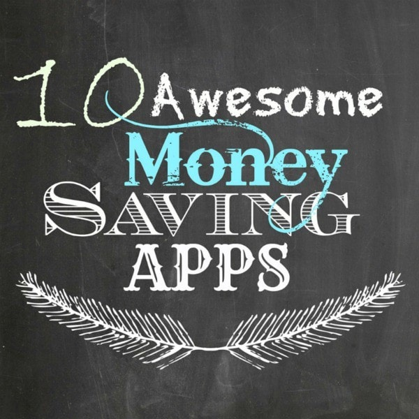 10 Awesome Money Saving Apps - Live Randomly Simple featured on Ideas for the Home by Kenarry®