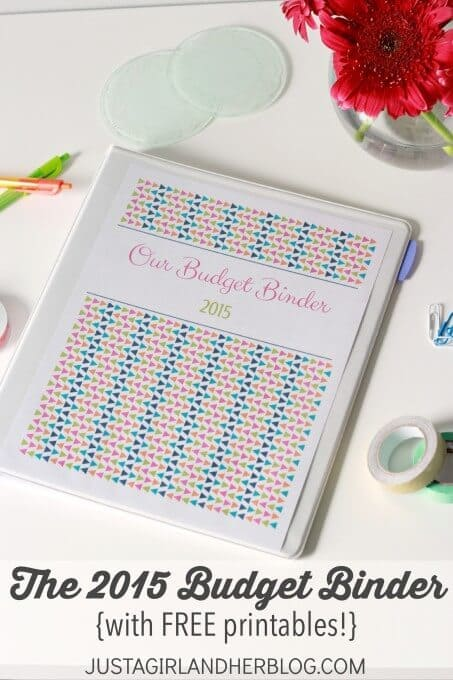 Secret Weapon for Saving Money: The 2015 Budget Binder - Just a Girl and Her Blog featured on Ideas for the Home by Kenarry®