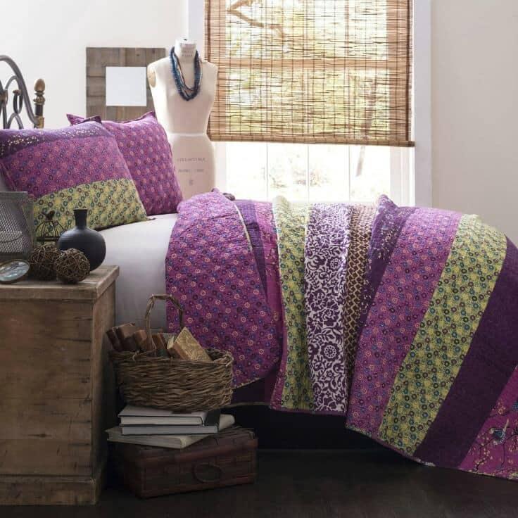 Bedroom ideas - Lush Decor Royal Empire 3 Piece Quilt Set