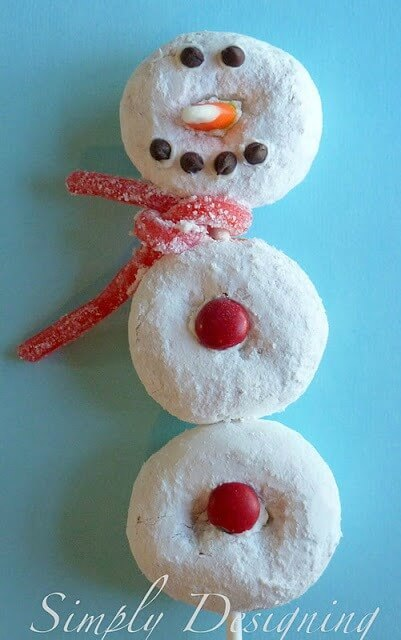 Snowman Pop - Simply Designing featured on Ideas for the Home by Kenarry®