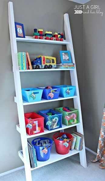 Toy Storage Ideas from Just a Girl and Her Blog on Hometalk