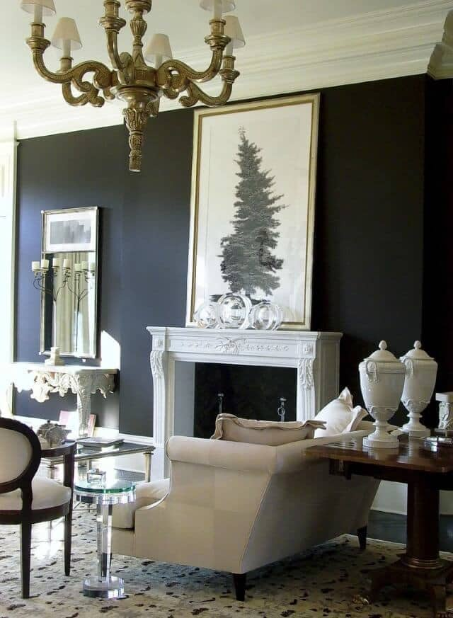 """Transitional living room design example - """"2003 Christmas House Living Room,"""" copyright 2002 Gatsby on Flickr and made available under an Attribution-NoDerivs 2.0 license"""