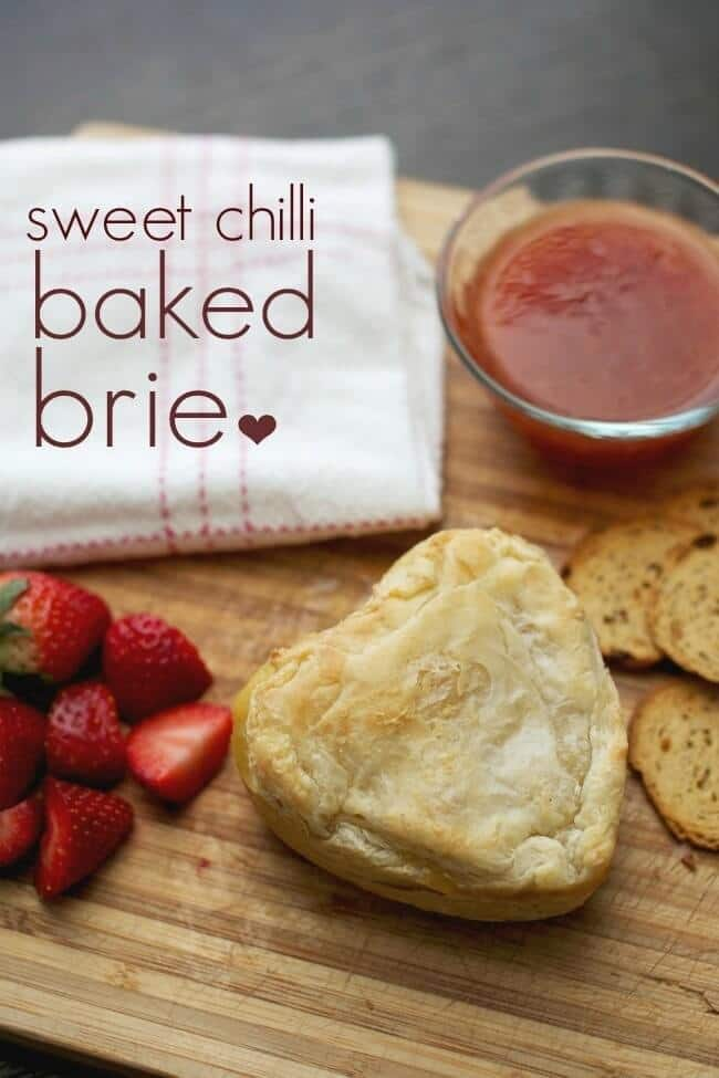 Unique Sweet Chilli Baked Brie - Spaceships and Laser Beams featured on Ideas for the Home by Kenarry®