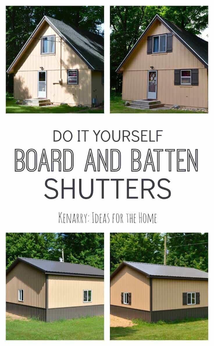 Board And Batten Shutters An Easy Diy Tutorial