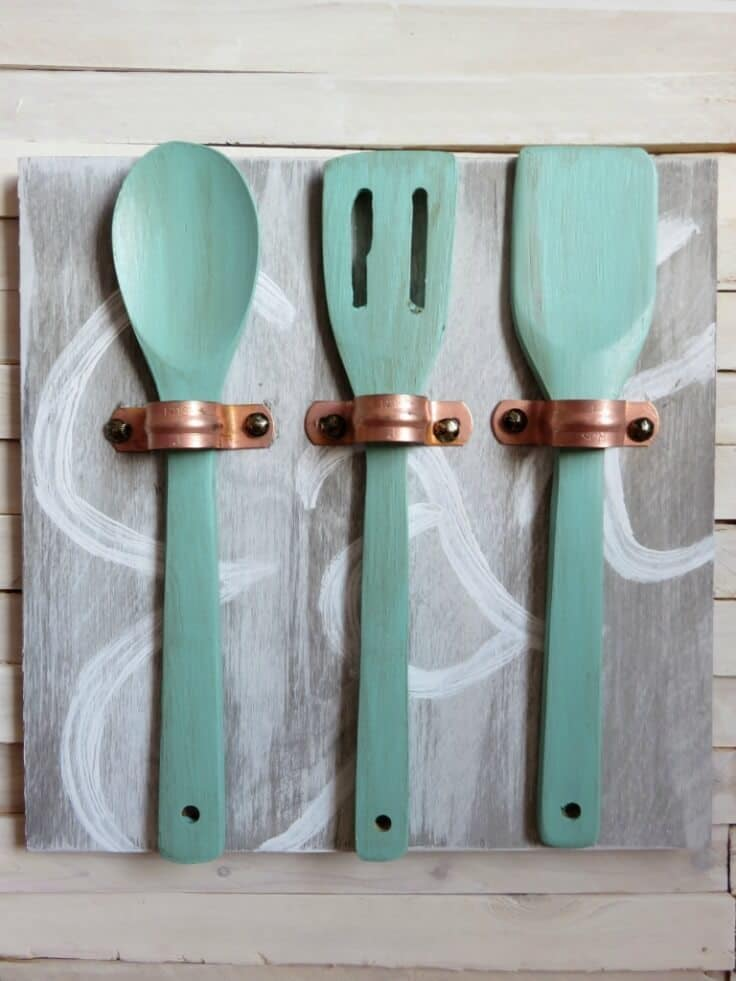Plumbing Pieces Kitchen Art - Average But Inspired featured on Ideas for the Home by Kenarry®