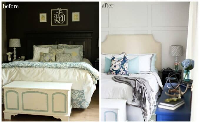 Master Bedroom Reveal - Just a Girl and Her Blog featured in the Summer Spotlight