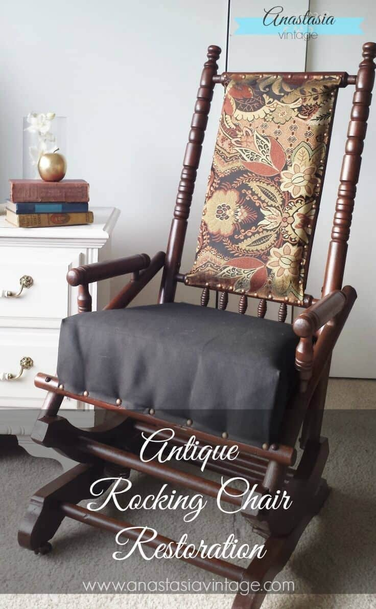 Broken To Beautiful Antique Rocking Chair Restoration