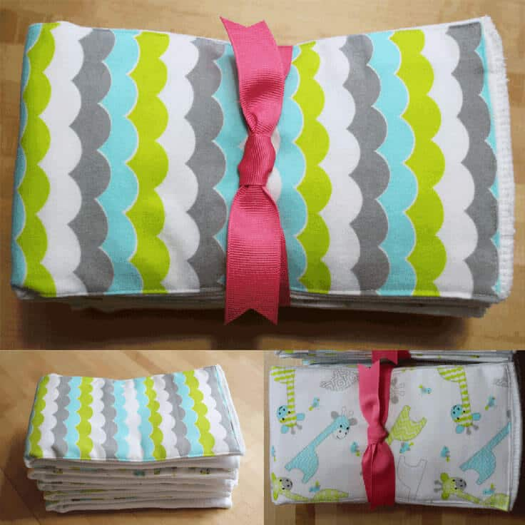 DIY: Burp Cloths from The Birch Cottage