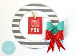 DIY Wall Art with Quote Hanger