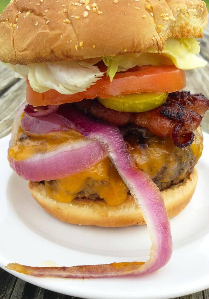 Delicious Double Burger - TotallytheBomb.com