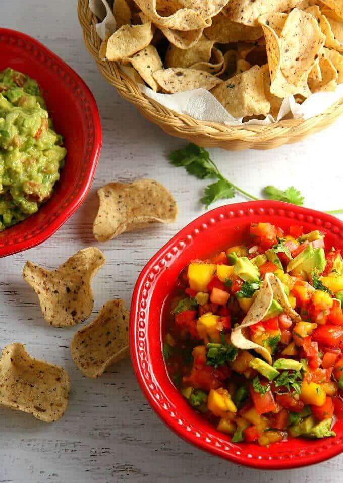 Avocado Mango Salsa – A Dish of Daily Life featured on Kenarry.com