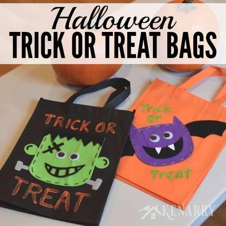 Halloween Goodie Bags For Preschool