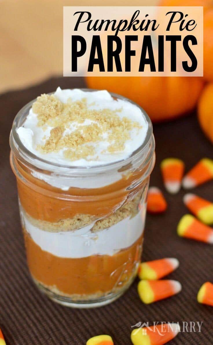 Pumpkin Pie Parfaits