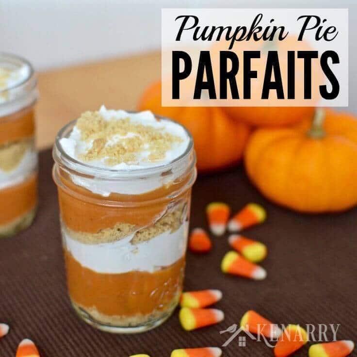 Pumpkin Pie Parfaits Recipe: A Dessert Idea For Fall