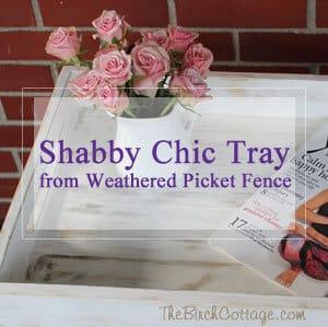 Shabby Chic Tray