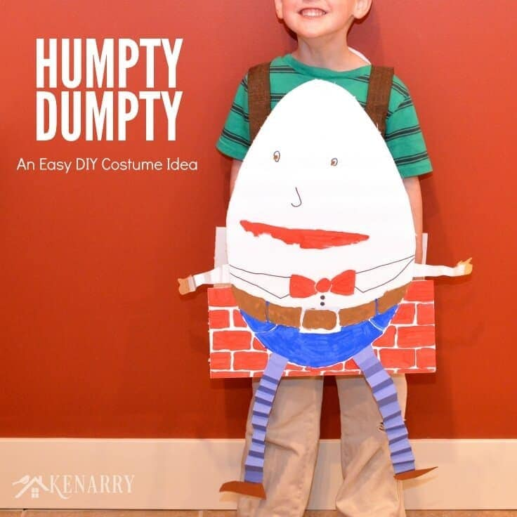 Humpty Dumpty Costume by Kenarry