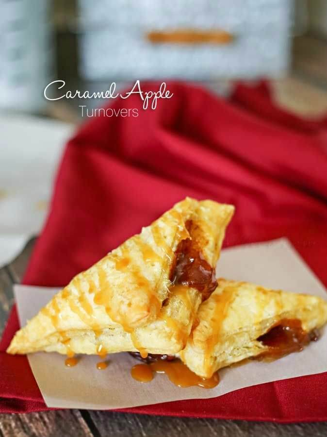 Caramel Apple Turnovers – Kleinworth & Co. - Caramel Apple Dessert Ideas: 20 Delicious Recipes featured on Kenarry.com