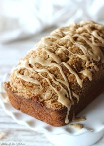 Cinnamon Streusel Pumpkin Bread