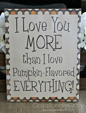 Free Fall Printable Sign - Occasionally Crafty