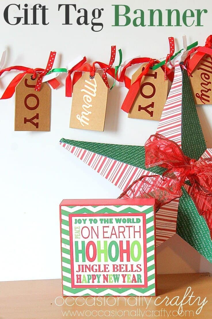 Gift Tag Banner