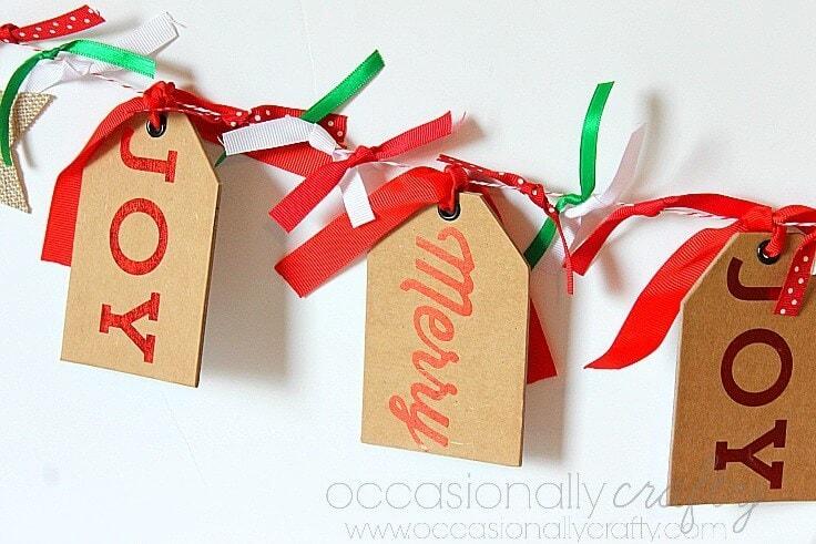 Holiday Gift Tag Banner 3
