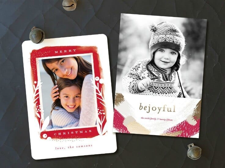 Holiday Cards from Minted.com - Holiday Card Checklist and Tips on Kenarry.com