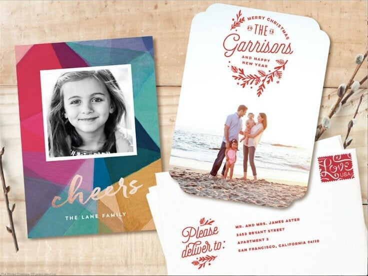 Holiday Cards from Minted - Holiday Card Checklist, Tips and Ideas on Kenarry.com