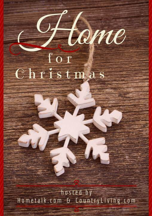Home for Christmas with Hometalk and Country Living Magazine
