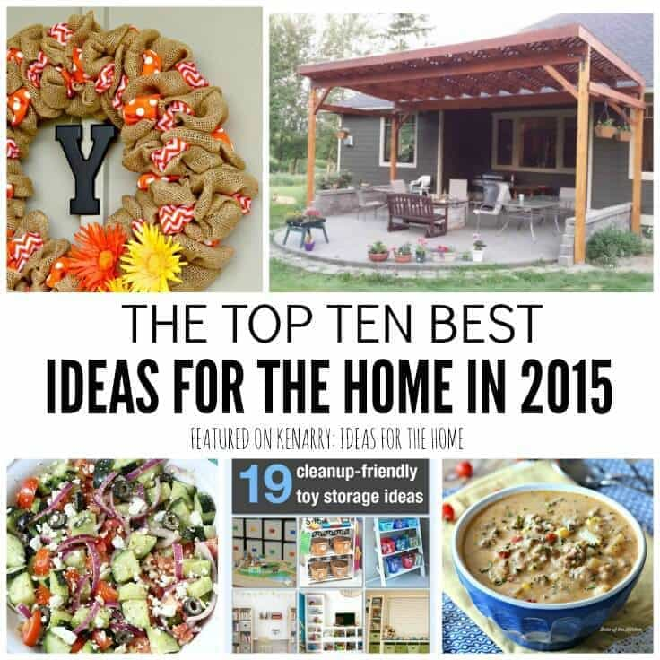 Top 10 best ideas for the home including the most viewed recipes, home decor and DIY projects - Kenarry.com